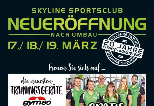 Neueröffnung des Skyline Sports Club